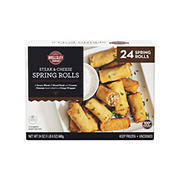 Wellsley Farms Steak and Cheese Spring Rolls, 24 ct.