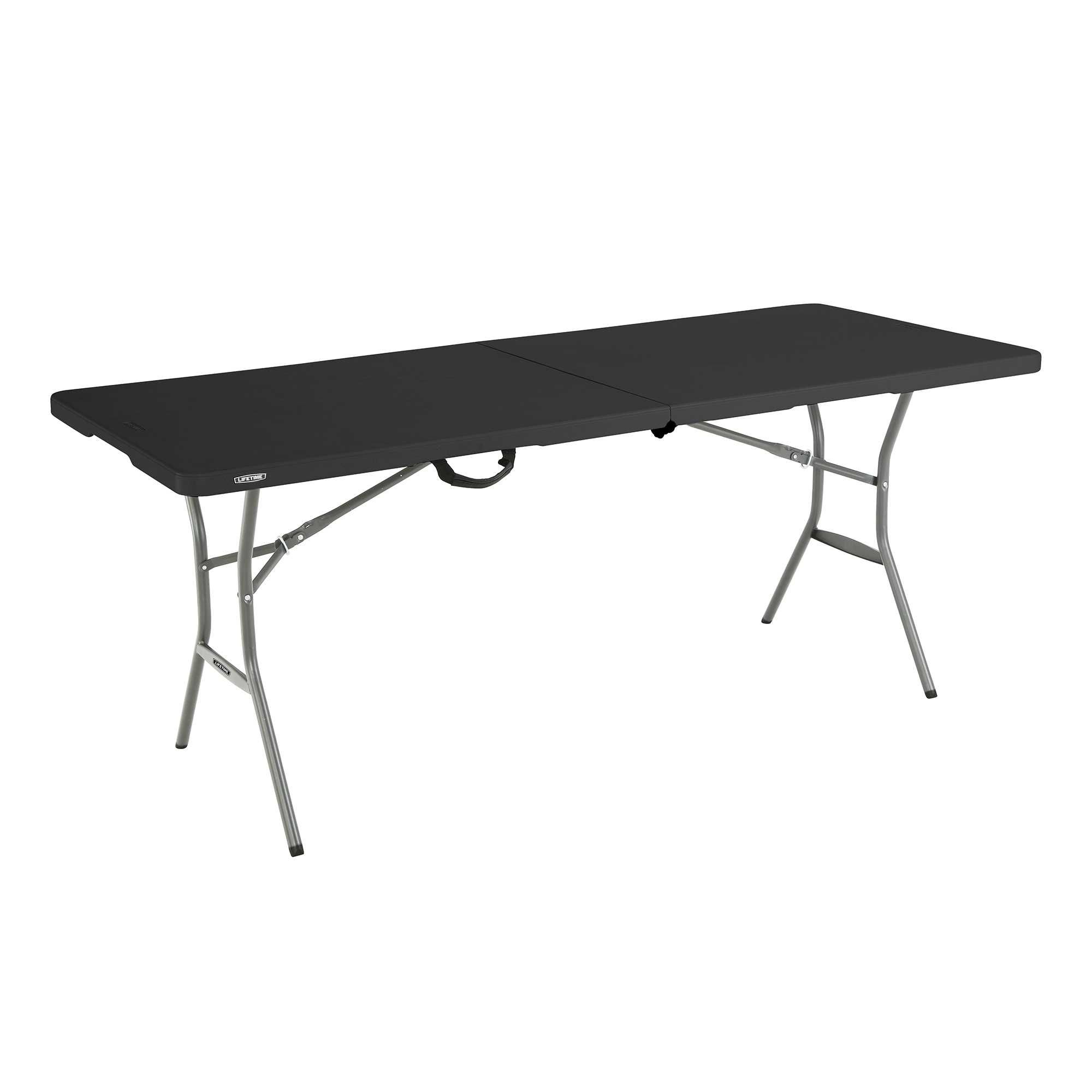 - Lifetime 6' Light Commercial Fold-in-Half Table - BJs WholeSale Club