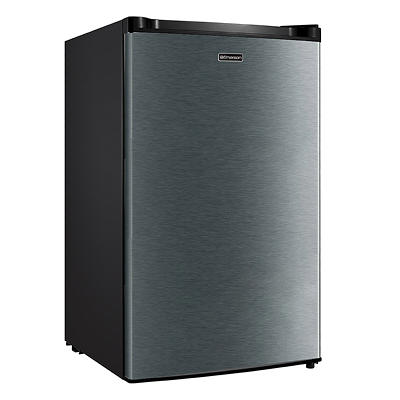 Emerson 4.4-Cu-Ft. Single Door Compact Refrigerator - Black Stainless