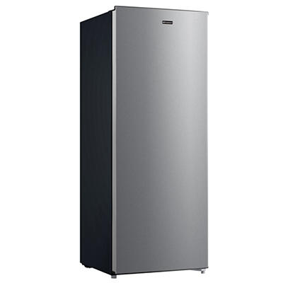 Emerson 7-Cu.-Ft. Upright Freezer - Stainless Steel
