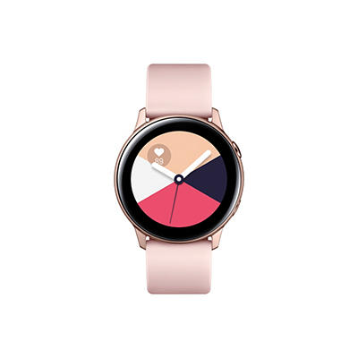 Samsung Galaxy Watch Active Smart Watch with Bluetooth - Rose