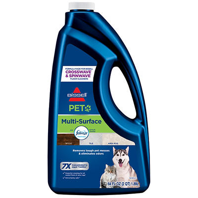 Bisell Multi Surface Pet Formula Cleaner, 64 oz.