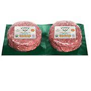 Verde Organic Grass Fed 80% Lean Beef Patties, 2 pk./21.3 oz.