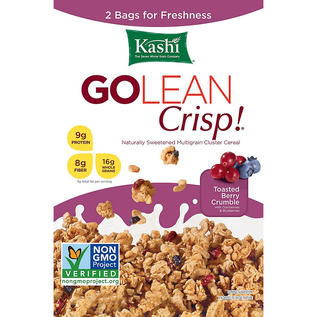 Kashi Go Lean Crisp, Toasted Berry Crumble, 40 oz  - BJs