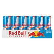 Red Bull Sugar Free Energy Drink, 24 pk.