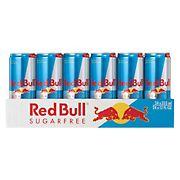 Red Bull Sugar Free Energy Drink, 24 pk.