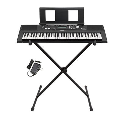 Yamaha EZ-220 61-Key Lighted Portable Keyboard