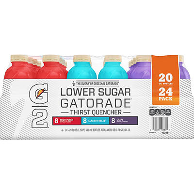 Gatorade G2 Low Calorie Variety Pack, 24 pk./20 fl. oz.