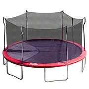Propel Trampoline 15' Round Trampoline with Safety Enclosure