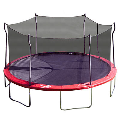 Propel Trampoline 15' Round Trampoline with Safety Enclosure