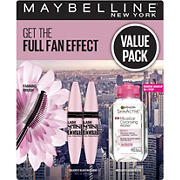 Maybelline Lash Sensational Mascara with Garnier Micellar Water Kit