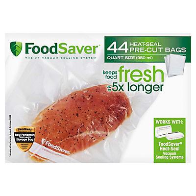 FoodSaver Quart-Size Vacuum Storage Bags, 44 ct.