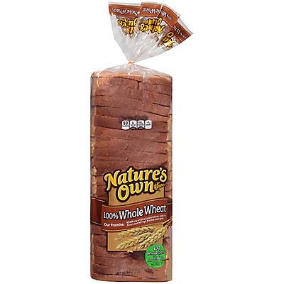 Nature's Own 100% Whole Wheat Bread, 2 pk./20 oz.