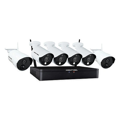Night Owl 8-Channel 6-Camera 1080p Hybrid Security System with 1TB HDD