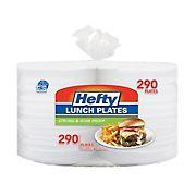 "Hefty Foam 8"" Plates, 290 ct. - White"