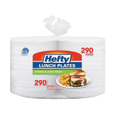 "Hefty Foam 8"" Plates, 290 ct. - White"