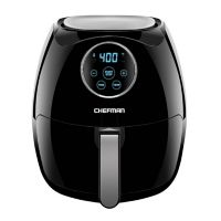 Deals on Chefman 6.5L Digital Air Fryer with Space Saving Flat Basket