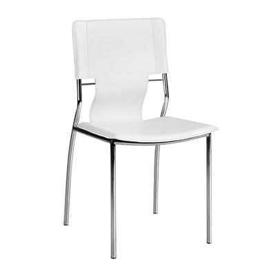 Zuo Modern Trafico Dining Chairs, 4 pk. - White