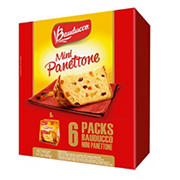 Bauducco Mini Panettone, 6 ct.