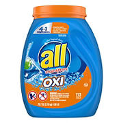 All Duo Oxi Single Dose Laundry Pacs, 113 ct.