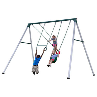 Backyard Discovery Big Brutas Metal Swing Set