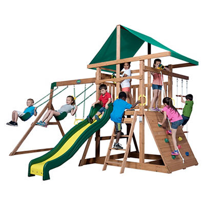Backyard Discovery Mount McKinley Swing Set