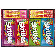 Starburst and Skittles Candy Variety Box, 30 ct.