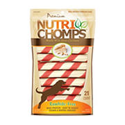 Nutri Chomps Chicken Twists, 21 ct.
