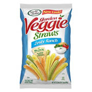 Sensible Portions Zesty Ranch Garden Veggie Straws, 23.5 oz.