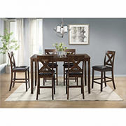 Winston 7-Pc. Counter Height Dining Set - Cherry