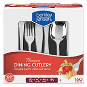 Berkley Jensen Premium Cutlery Set, 160 ct.