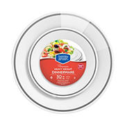 Berkley Jensen Premium Heavyweight Dinner Plates, 30 ct.