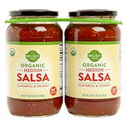 Wellsley Farms Organic Salsa, 2 pk./35 oz.