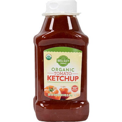 Wellsley Farms Organic Ketchup, 40 oz.