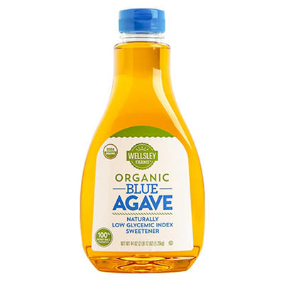 Wellsley Farms Organic Blue Agave, 44 oz.