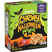 Quaker Chewy Mini Halloween Granola Bars, 60 ct.