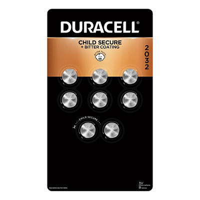 Duracell 2032 Lithium Coin Batteries, 8 ct.
