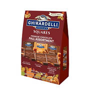 Ghirardelli Fall Assortment Premium Chocolate Squares, 21.3 oz.