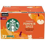 Starbucks Pumpkin Spice Coffee K-Cups, 72 ct.