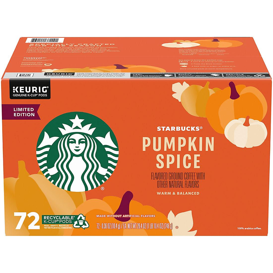 Starbucks Pumpkin Spice Coffee K-Cups