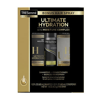 Tresemme Ultimate Hydration Shampoo & Conditioner, 22 oz./ 2 pk. + Bon
