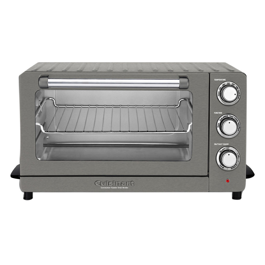 Cuisinart Toaster Oven Broiler with Convection - Black Stainless Steel