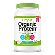 Orgain Organic Protein Plant Based Protein Powder, Vanilla Bean, 2.74 lbs.