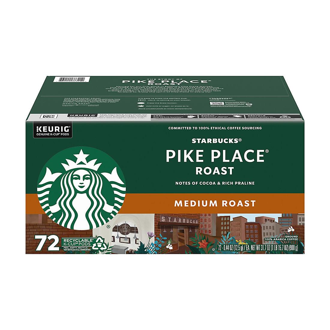 Starbucks Pike Place Roast Medium Roast