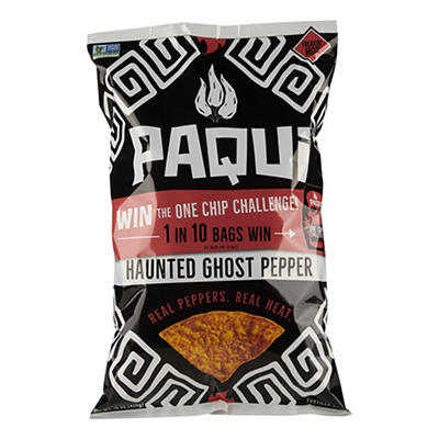 Paqui Haunted Ghost Pepper Chips, 15 oz.