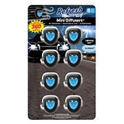 Refresh Your Car Lightning Bolt and Ice Storm Air Diffusers, 8 pk.
