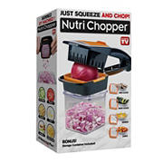 As Seen On TV Nutri Chopper 7-Pc. Food Prepper with Storage Container