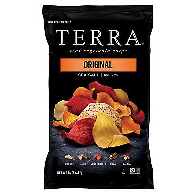 Terra Original Vegetable Chips, 14 oz.