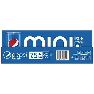 Pepsi Mini Cans, 30 pk./7.5 oz.