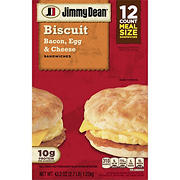 Jimmy Dean Bacon Egg and Cheese Biscuits